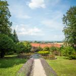 Blick in Ries vom Schlosshof